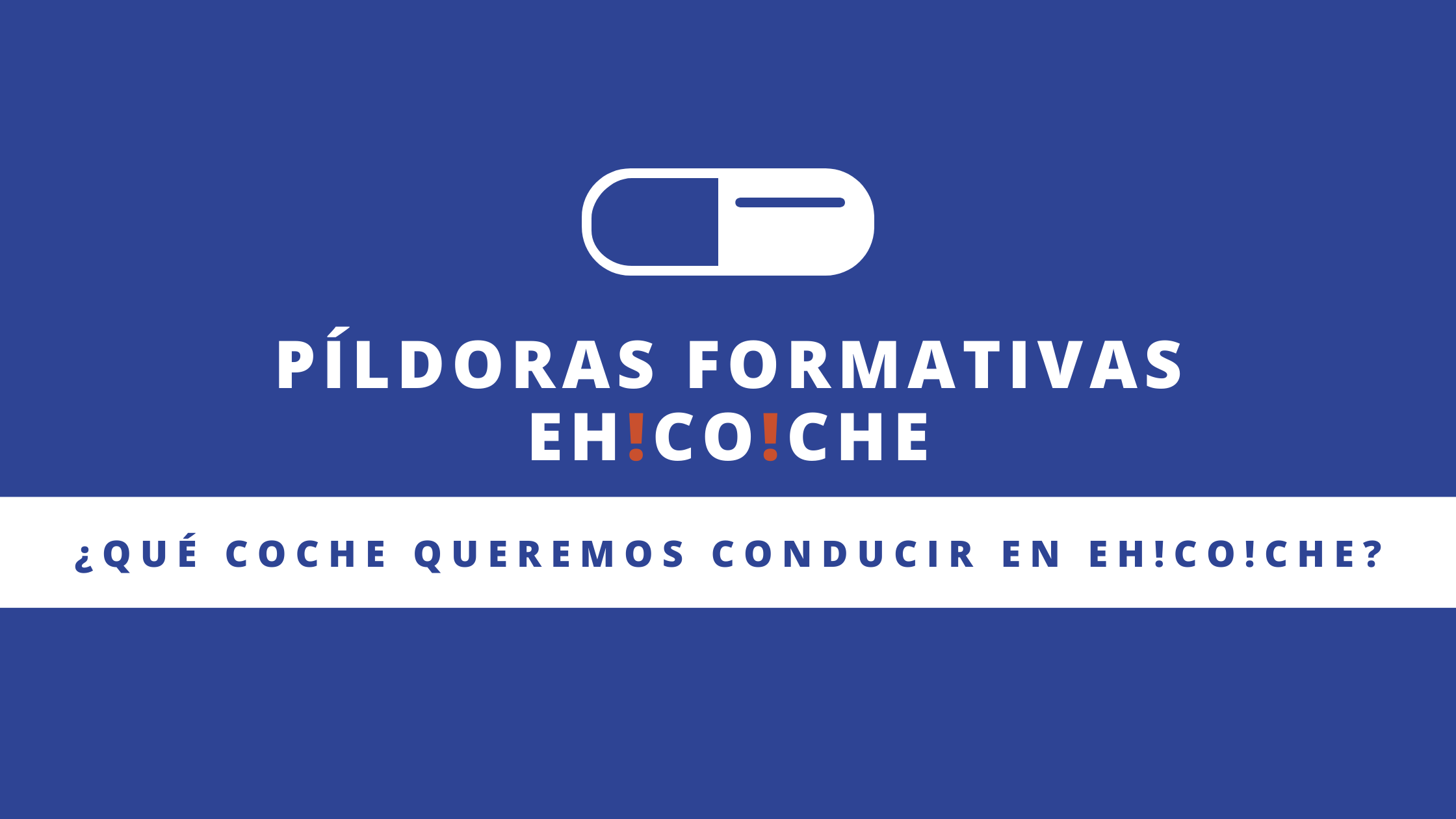Píldora EHCOCHE
